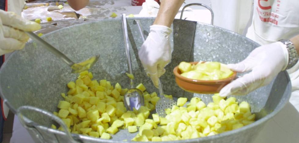 El Festival de la patata brava, en Villar de Torre