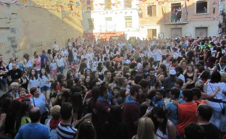 Cohete de las fiestas de la Virgen de la Antigua en Alberite
