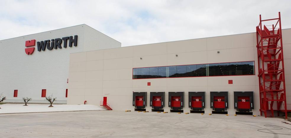 La ampliación de Würth en Agoncillo permitirá sumar 40 empleados en los próximos tres años