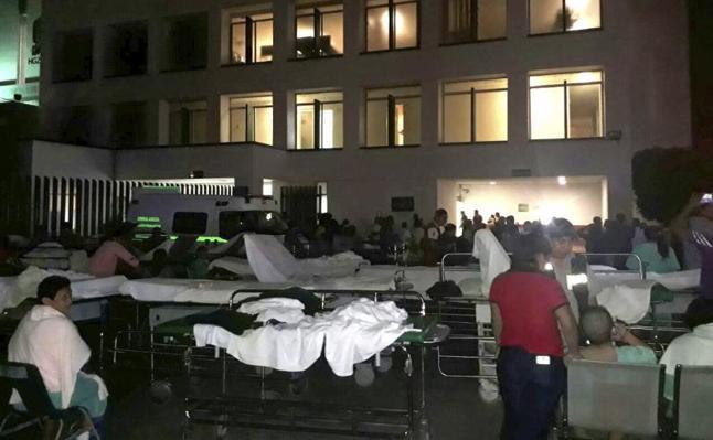 58 muertos en un potente terremoto de 8,2 en México