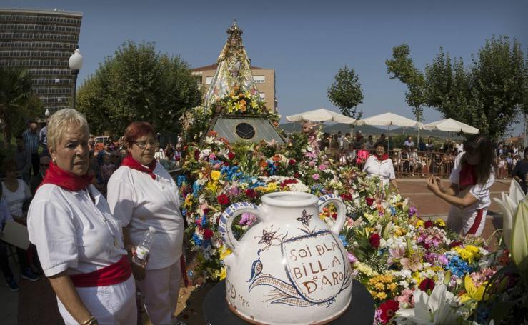 Segunda jornada festiva en honor a la Virgen