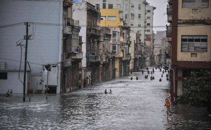 El huracán Irma arrasa La Habana