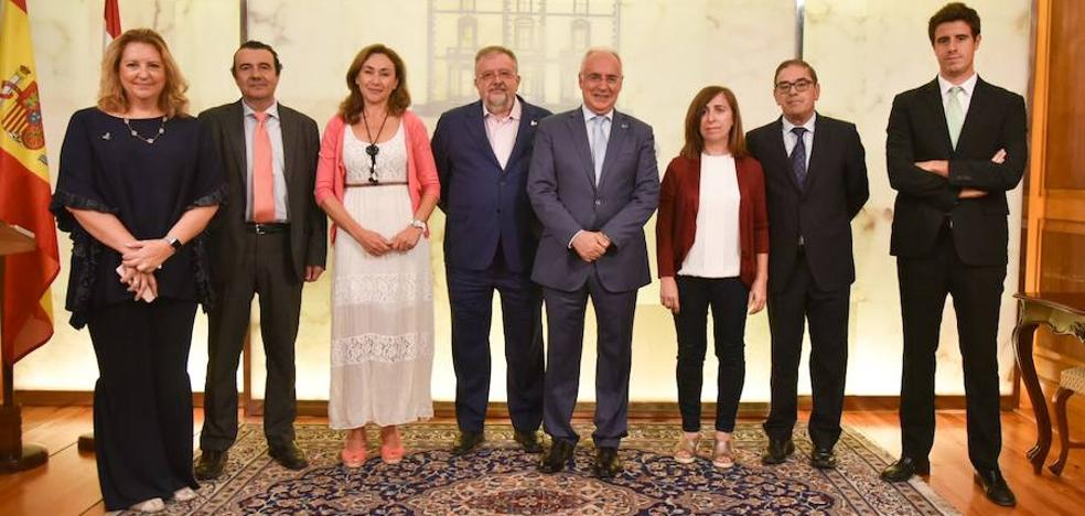 La Rioja se suma a la Fundación Francisco Luzón contra la ELA