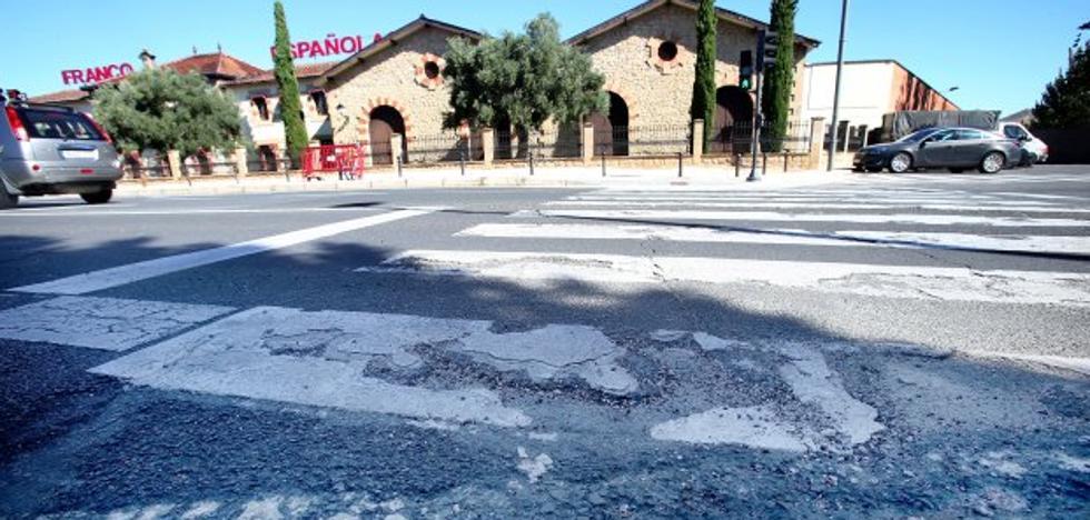 La Guindilla: agujeros en el asfalto, que está «destrozado»