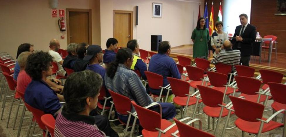 Alfaro contrata a 34 desempleados gracias a las subvenciones al empleo