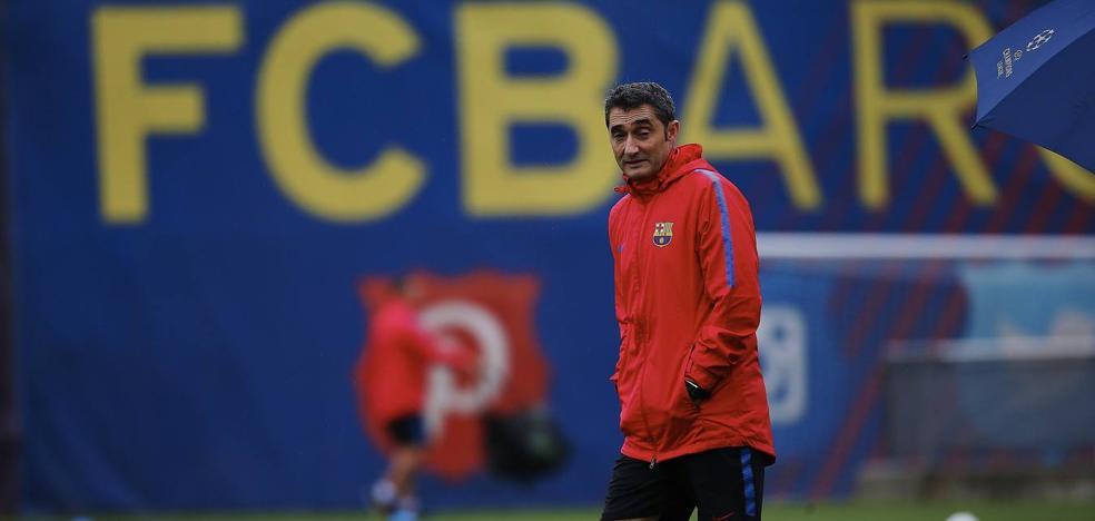 Valverde: «¿Messi y Suárez intocables en las rotaciones? Ya lo veremos»