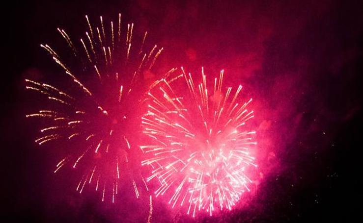Los fuegos artificiales del sábado