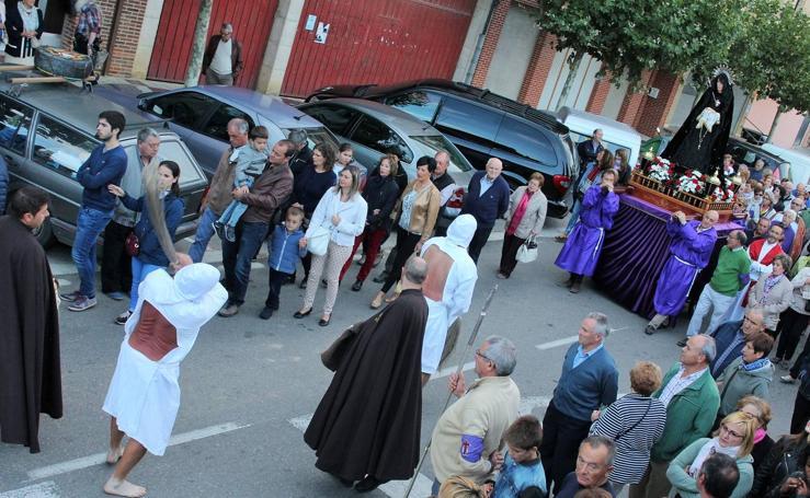 Procesión de la Cruz de Septiembre en San Vicente