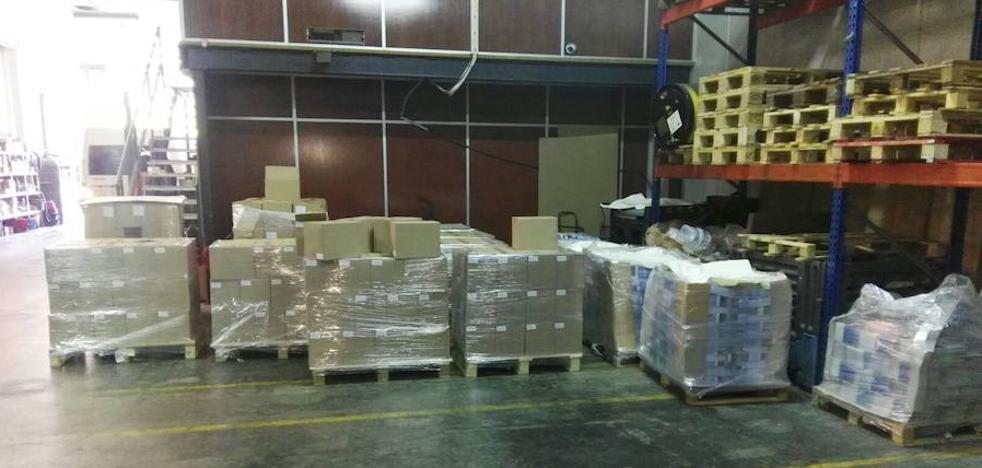 La Guardia Civil interviene más de 1.300.000 carteles del 1-O