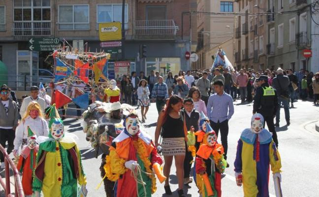 Los ecuatorianos celebraron en Alfaro a la Virgen del Cisne
