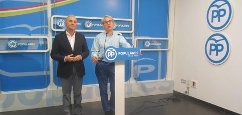 Elguea denuncia «irregularidades» en la elección de la junta del PP en Lardero