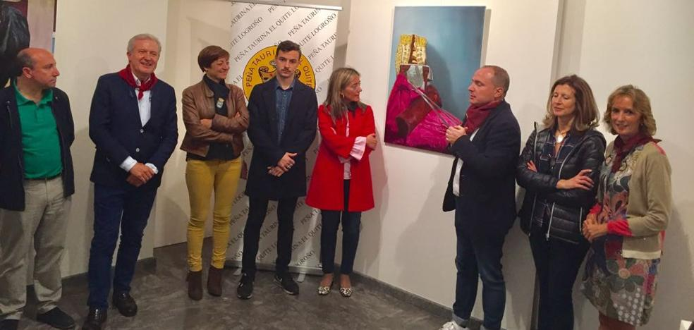 Jesús Domingo Peña gana el XVI Certamen de Pintura El Quite