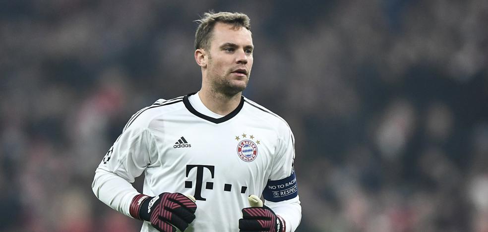 Neuer se vuelve a lesionar en el pie