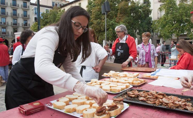 Degustaciones y más degustaciones por San Mateo