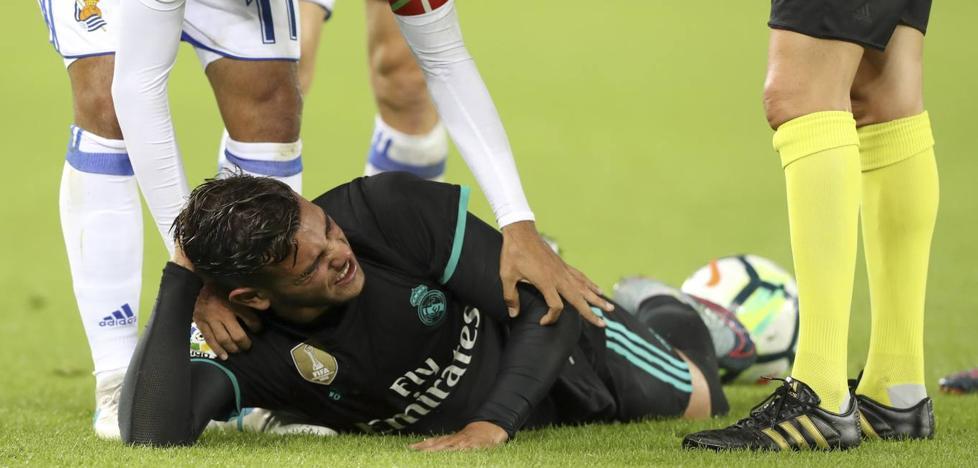 Theo sufre una subluxación de hombro