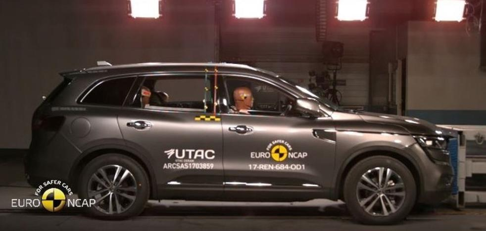 Renault Koleos, cinco estrellas en seguridad Euro NCAP