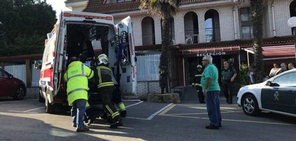 Cinco heridos graves tras una fuga de gas en un hotel de Cantabria