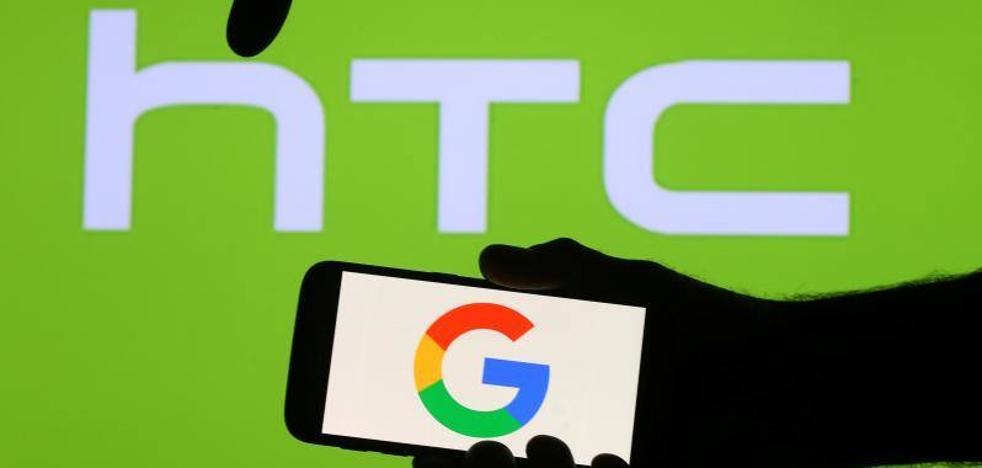 HTC vende a Google parte de su sección de teléfonos