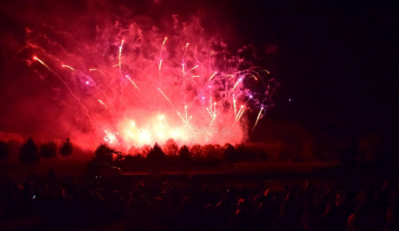 Los fuegos artificiales del viernes