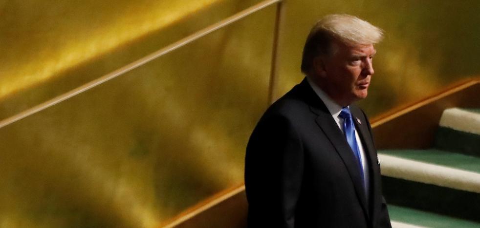 Trump vuelve a amenazar con destruir Corea del Norte
