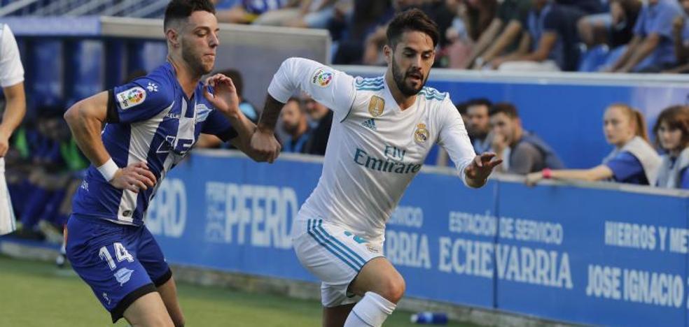 Un Real Madrid más mandón pero menos letal