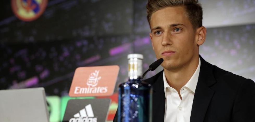 Marcos Llorente: «El Real Madrid es el club de mi vida»