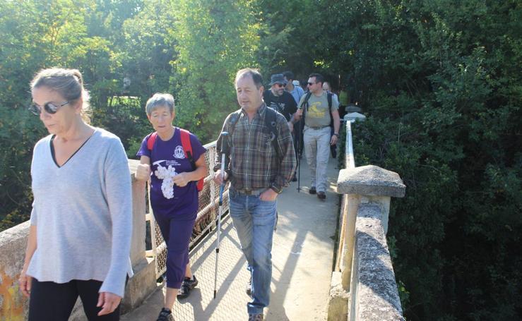 Paseo saludable en Haro