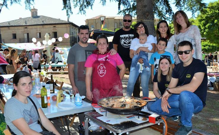 Casalarreina celebra su concurso de paellas