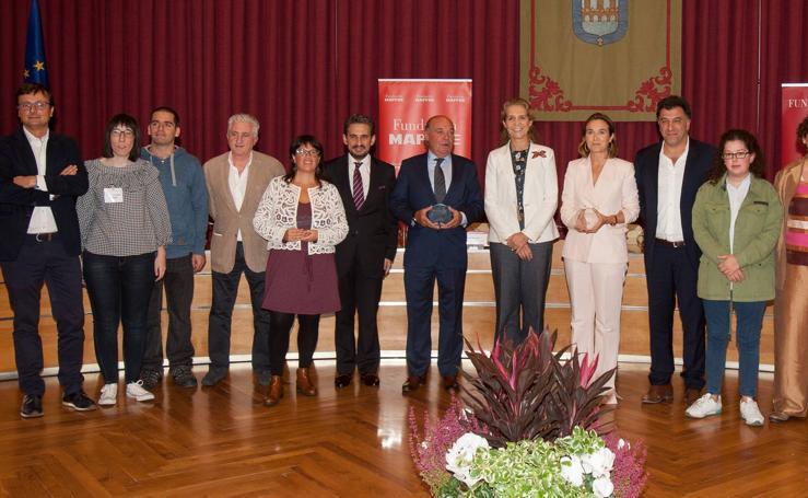 La infanta Elena entrega en Logroño los premios del Programa Social de Empleo de Fundación Mapfre