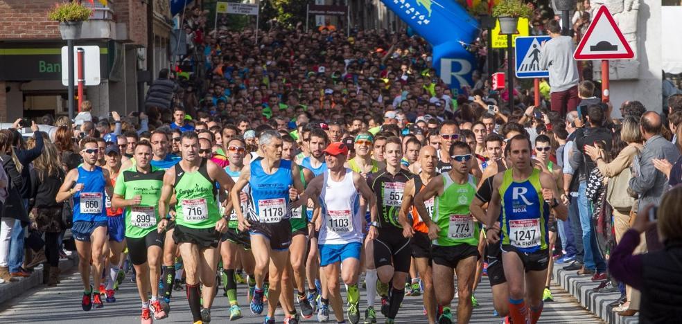La X edición de la Entre Viñedos reunirá 1.500 atletas el 22 de octubre