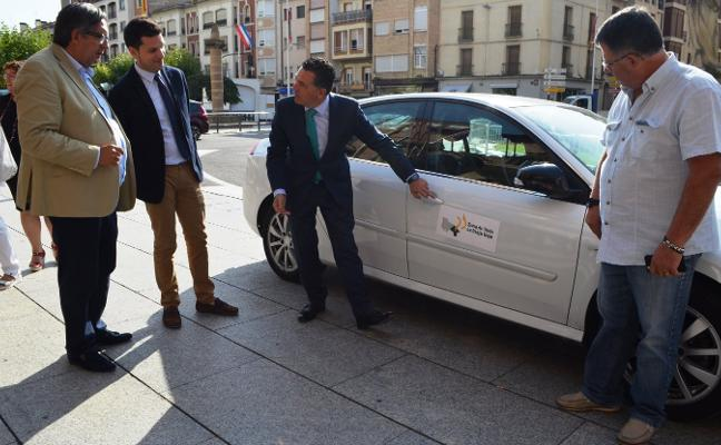 Taxistas riojanos y navarros de la Ribera reclaman un área conjunta de prestación