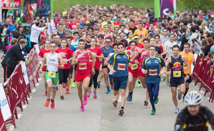 Carrera Tres Parques en Logroño