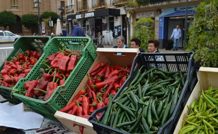 Mercado del Pimiento en Calahorra
