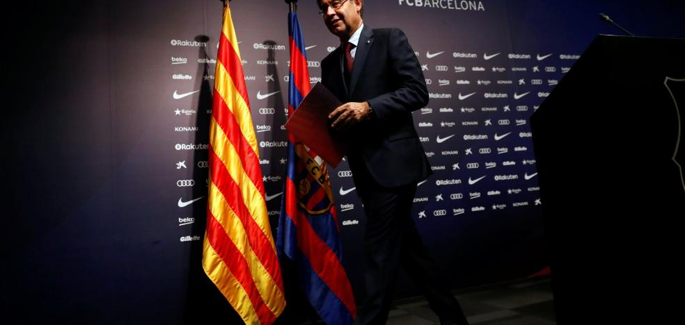 Nadie habla de fútbol en Can Barça