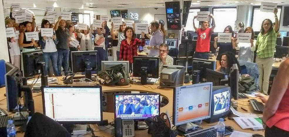 La cobertura del 1-O 'enciende' TVE