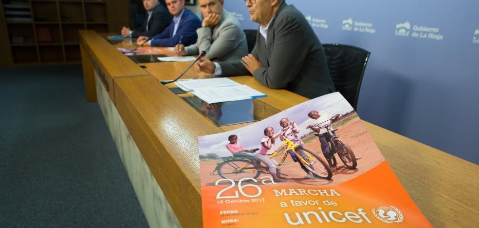 La marcha de Unicef será el 15 de octubre y recaudará fondos para niños rohingya