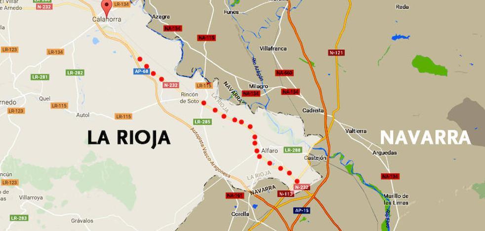 Fomento inicia la redacción de la duplicación de la N-232 entre Calahorra y el límite con Navarra