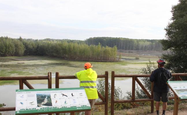 Visita guiada hoy a los Sotos del Ebro de Alfaro