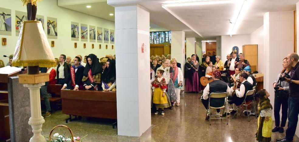 Misa baturra de la Casa de Aragón en La Rioja