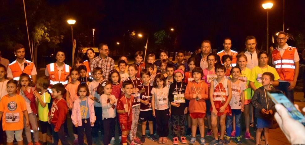 Los jóvenes atletas dan paso al maratón