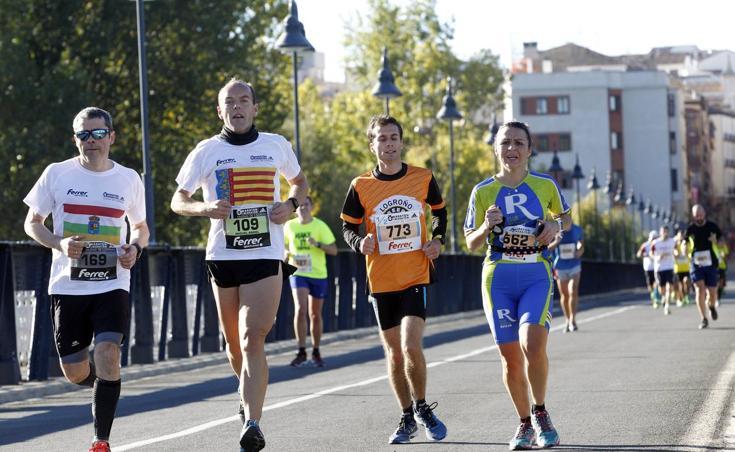 Maratón y Media Maratón Ciudad de Logroño