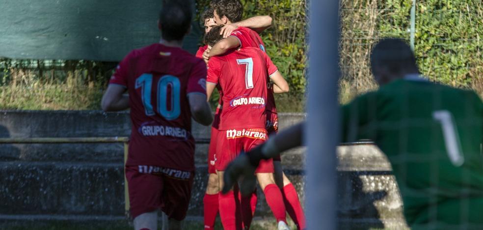 El Calahorra logra una ajustada victoria ante el Casalarreina con un solitario gol de Rodrigo