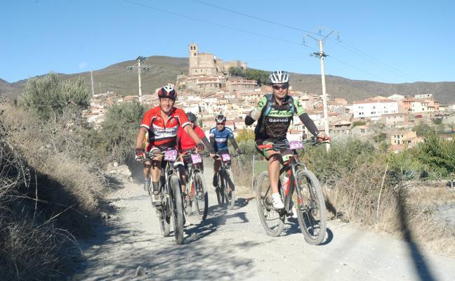 La BTT Castillo de Cornago contó con 120 ciclistas