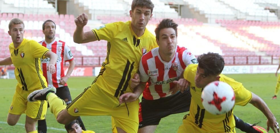 La UD Logroñés consigue sus primeros goles a balón parado