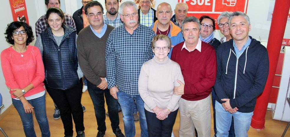 Ángel Conde es reelegido como secretario general del PSOE en Haro