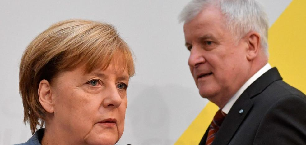 Merkel pone ya rumbo a 'Jamaica'