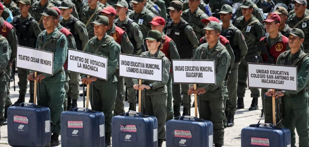 Venezuela, con grave escasez de comida y medicinas, pone en órbita su tercer satélite