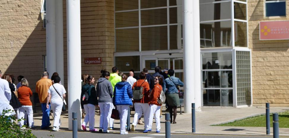 Podemos denuncia una «trama de corrupción» en el Hospital de Calahorra