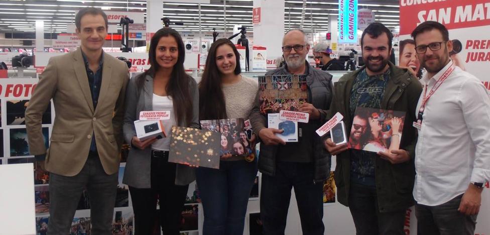 'Alegría' y 'Chupinazo', ganadoras del II Concurso de Fotografía y Selfie