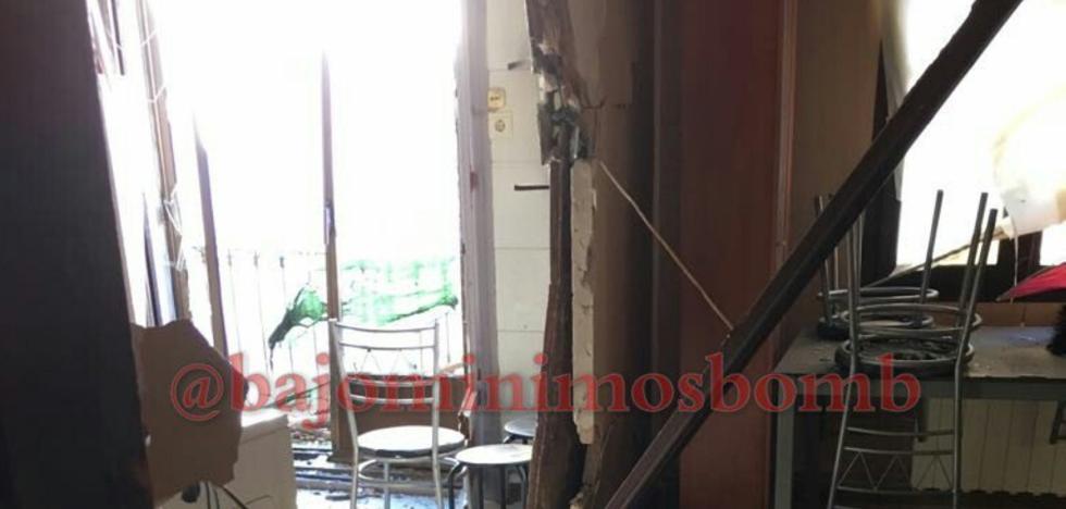 La Guardia Civil investiga el origen de la potente explosión de una vivienda en Nalda